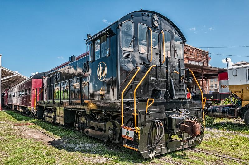 Norfolk & Western ALCO T-6 #41, Virginia Museum of Transportation, Roanoke, VA