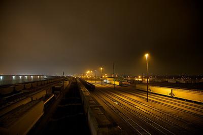 Saginaw Train-yard