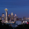 Space Needle and downtown Seattle, from Kerry Park.