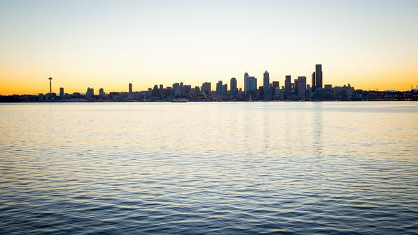 Seattle Sunrise July 2014