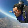 Free falling over the Southern California coast