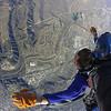 Free falling over Oceanside, California