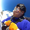 Falling out of the plane from 13,000 feet