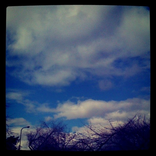 Oakland Sky While Out Shopping