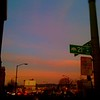Sunset at 21st Street