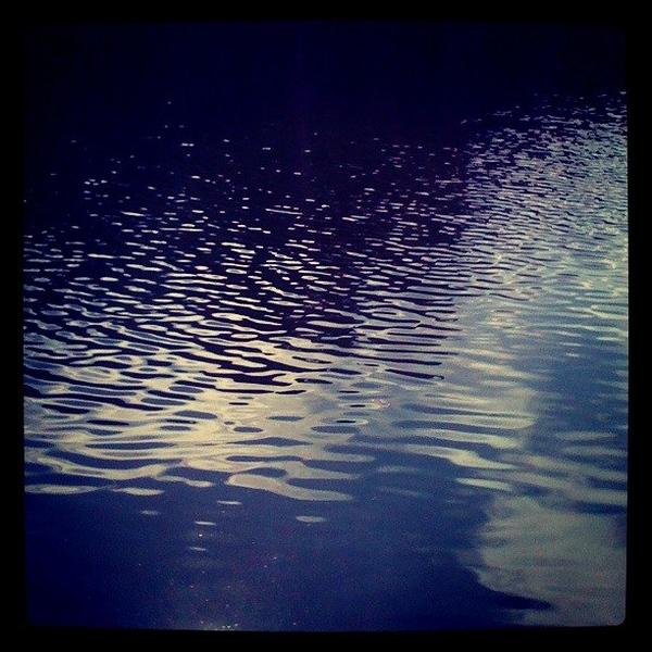 Dancing Sun on the Water