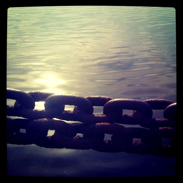 Chained to the Water