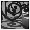 Spiral Iron Work and Shadows