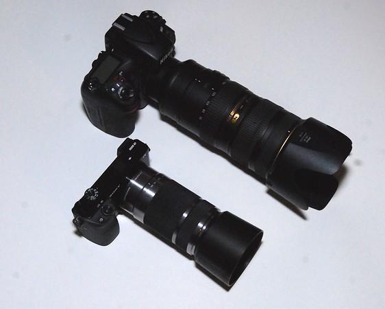 Sony a6000 vs Nikon D800