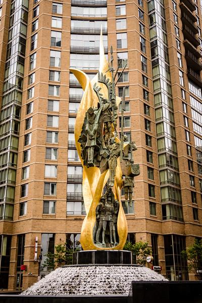 National Katyn Memorial, Alicianna Street & South President Street, Harbor East, Baltimore, MD