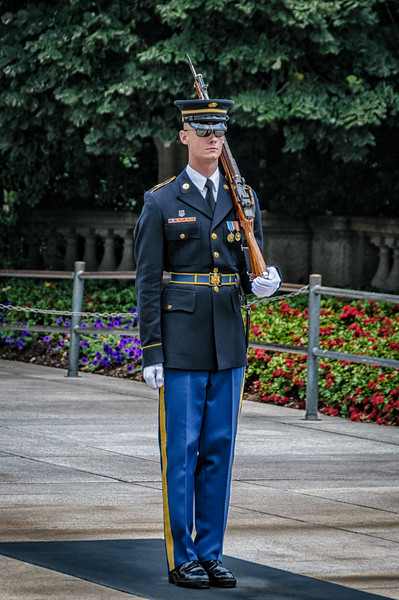 Honor Guard, Tomb of the Unknowns, Arlington National Cemetery, Virginia
