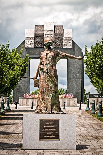 Le Monument aux Morts Sculpture, National D-Day Memorial, Bedford, Virginia
