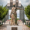 Le Monument aux Morts Sculpture, National D-Day Memorial, Bedford, Virginia