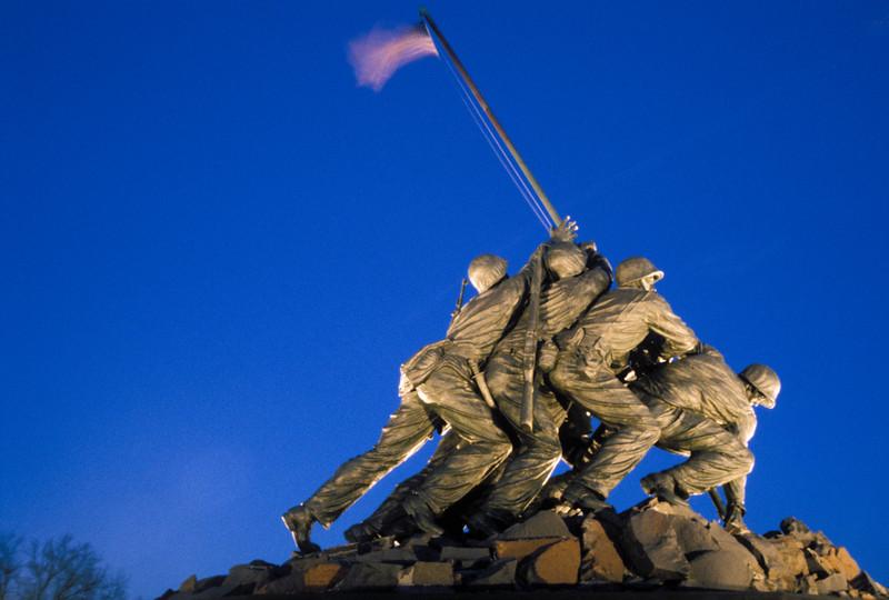 US-VA-000202.psd - Iwo Jima US Marines Corp War Memorial, Arlington, Virginia
