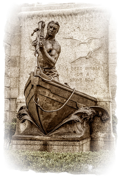 A Dead Whale or a Stove Boat, Whaling Memorial, City Hall, New Bedford, Massachusetts