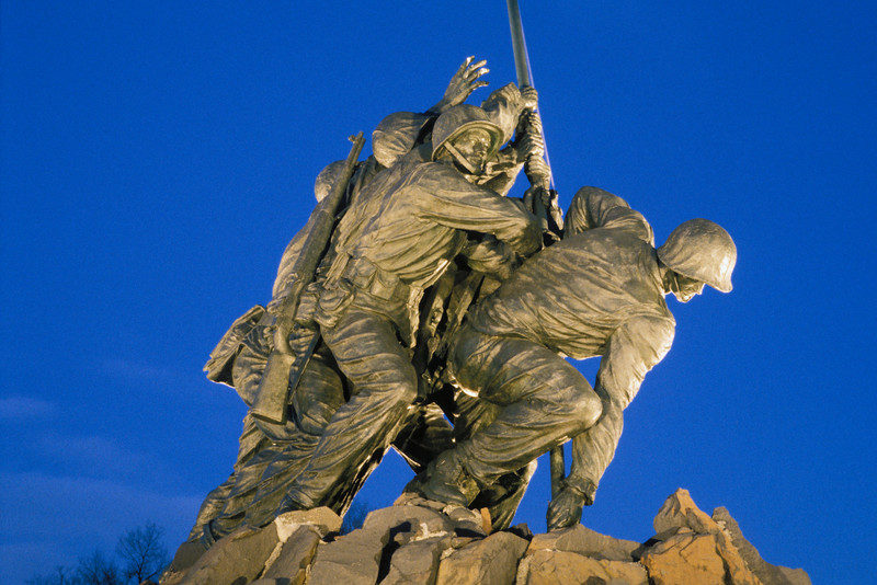 US-VA-000201.psd - Iwo Jima US Marines Corp War Memorial, Arlington, Virginia