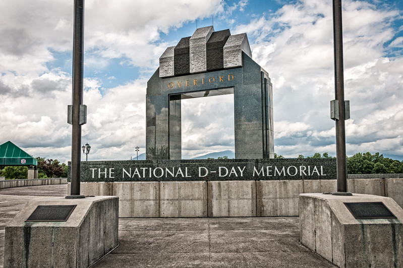 Overlord Arch, National D-Day Memorial, Bedford, Virginia