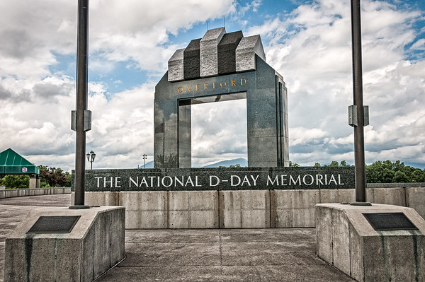 Overlord Arch National D Day Memorial Bedford Virginia