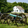 Cannons & Dunker Church, Antietam National Battlefield, Sharpsburg, MD