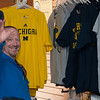Jay Bright.  A sports fan buying sports gear.