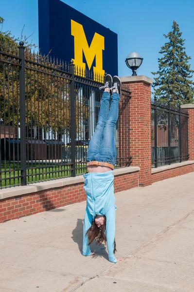 Taylor.  Handstand.