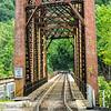 Railroad bridge over New River, Thurmond Historic District, West Virginia