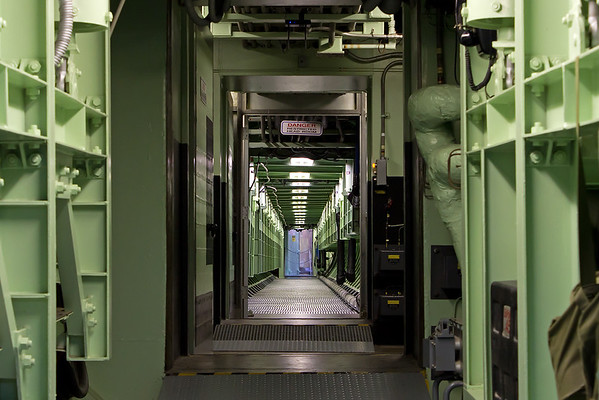 "The ""catwalk"" that connects the control room to the missile silo."