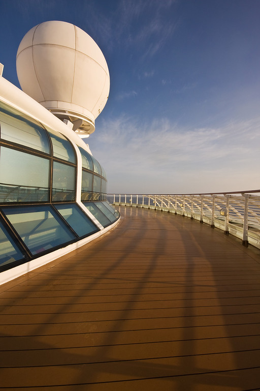 Another View of the Aft Top Deck <br /> Disney Magic