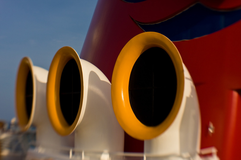 A portion of The Stack aboard the Disney Magic<br /> Lens Baby