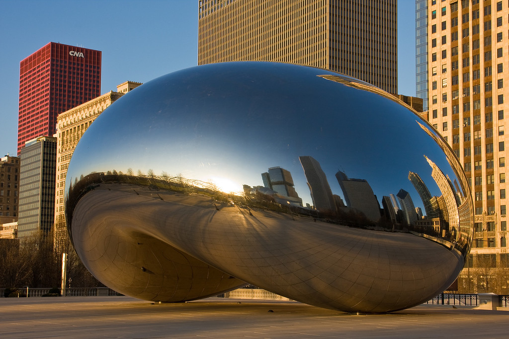 The Millenium Sculpture<br /> Chicago