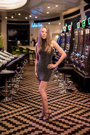 Verena at the Casino