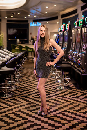 Verena at the Casino