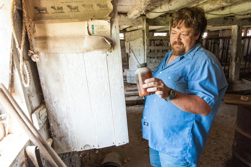 Don Walker, Jr., Walker Barn, Imlay City, Michigan