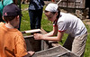 <center>Petting the Chicks  <br><br>Watson Farm<br>Jamestown, Rhode Island</center>