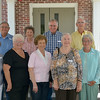 Members of WSHS Class of 1957 attending the April 14, 2012.<br /> Front: Mary Sistrunk Wood, Linda Lovett Clark, Martha Sistrunk Starling, Carrie Bryant Brown, Bertie Burnham Hester, Ellinor Norris Wiggins.<br /> Back: Robert Taylor, Frieda Stormant Farrell, Dell Greene, Wayne Beauchamp.