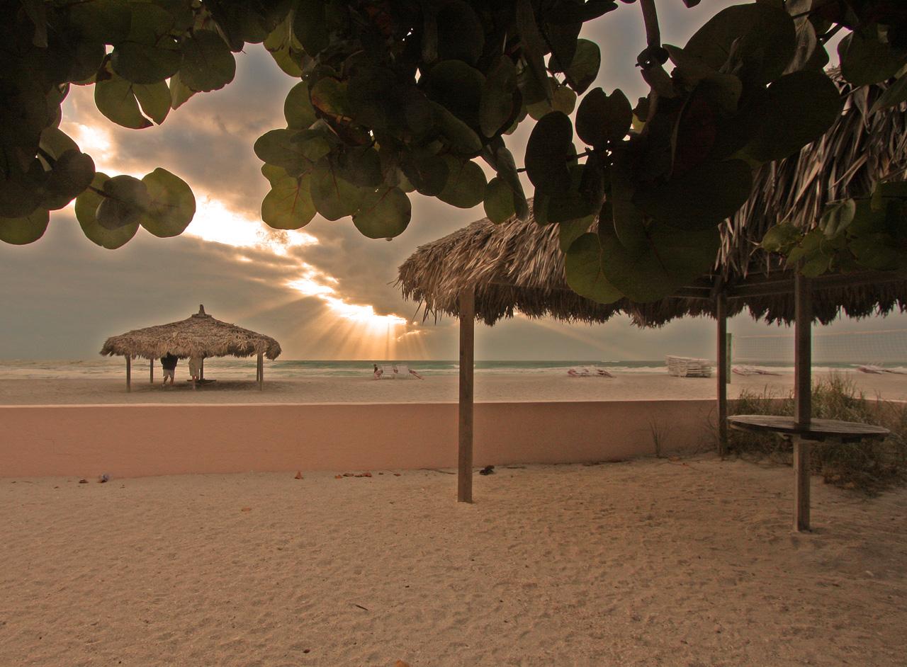 Lido Beach after the storm (Sarasota, Florida)