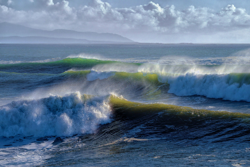 Storm Surf, Santa Cruz
