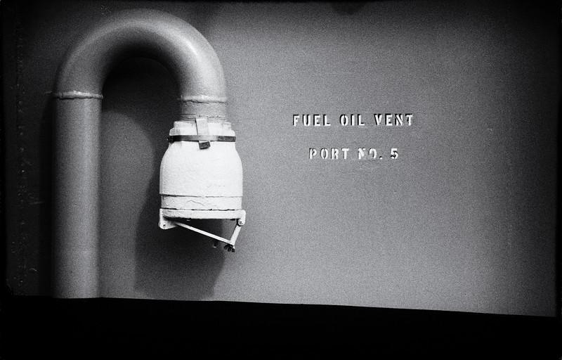 Fuel Oil Vent Port No 5
