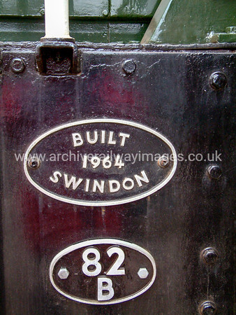 9526 Builders Plate 27/3/04 Williton