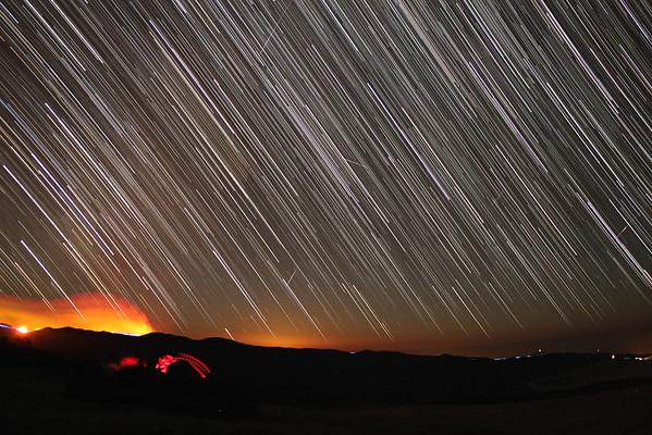 Startrails | Nightsky seen from Madeira