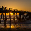 Sunset, Hermosa Beach Pier