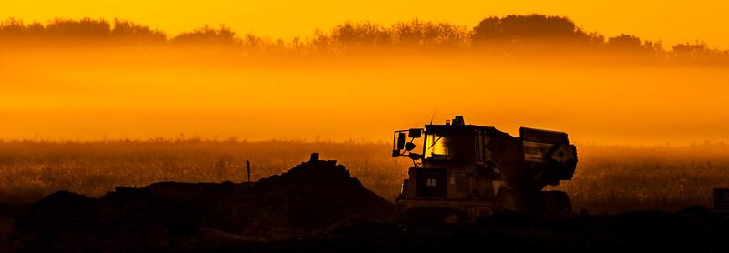 The  Quarry sunrise.