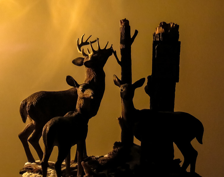 """Back to the Sanctuary"" - Deer Sculpture by Terry Redlin"