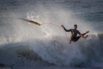 Surfing El Cotillo, Fuerteventura