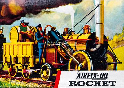 Stephensons Rocket.