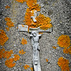 Crucifix on a Gravestone