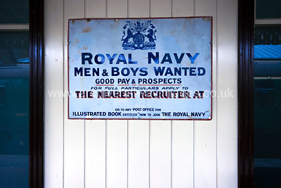 Royal Navy  Recruitment 30/3/15 Sheffiled Park