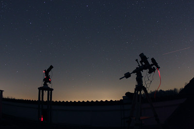 Imaging the sky at night