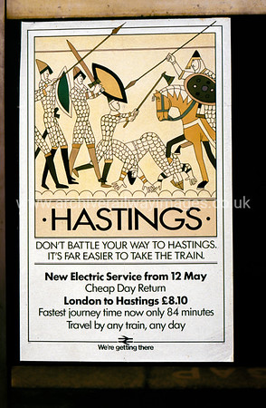 Hastings Poster 1/10/86 Waterloo