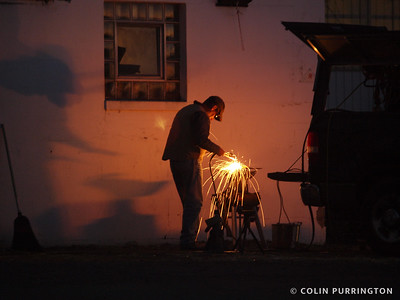 Farrier welding